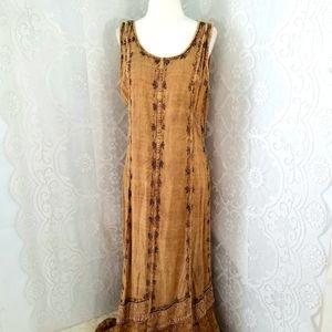 Mlle Gabrielle Bohemian Style Maxi Dress